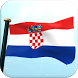 Croatia Flag 3D Live Wallpaper by I Like My Country - Flag