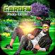 Garden Photo Editor : Garden Photo Frame