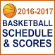 Basketball Schedule / Scores by First Serve Media, LLC