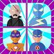Super Hero Game Memory Trainer by AppPlus Dev