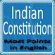 Indian Constitution Most Point by tetarwalsuren