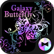 Stylish Theme Galaxy Butterfly by +HOME by Ateam