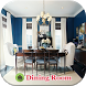 Dining Room Decorating Concept by Blank Media