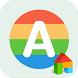 Alphabet LINE Launcher Theme by Camp Mobile for dodol theme