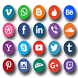 All the social networks by geekmouhssin