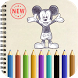 Coloring Book : Mouse Mickey by Will dev
