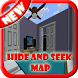 New Hide and Seek Map for MCPE by bandulandev