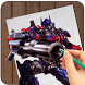 How to Draw Transformers Fast by multi vision app
