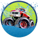 Water Surfer Slide Monster Truck MMX Off Road Race by ZoqGames