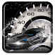 Incredible Silver Roadster Tachometer Theme by Mobile themes by Pixi
