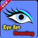 eye art drawing