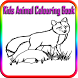 Kids Animals Colouring Book by Starbiztech, LLC