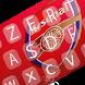 arsenal keyboard themes by sahara-team app