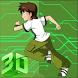 Hero kid - Ben Alien Power Surge by pure170