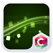 Green Light C Launcher Theme by CG-Live-Wallpapers