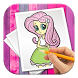 How To Draw Equestria Girls by Snooky Dev