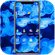 Blue sea jellyfish wallpaper by Theme and keyboard design team