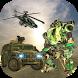 Futuristic Army Car Robot Transformation by PocketAppStudio