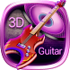 3D Electric Guitar Music Theme by Elegant Theme