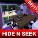 Hide-n-Seek Maps for Minecraft MCPE by BestMapsAddons