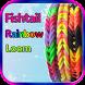 Fishtail Rainbow Loom Bracelet by Great App Warehouse
