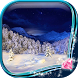 Snowy Night Live Wallpaper by Bling Bling Apps