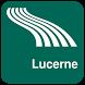 Lucerne Map offline by iniCall.com