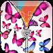 Butterfly Zipper Lock by Globe Apps