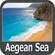 Aegean Sea GPS Map Navigator by FLYTOMAP