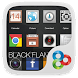 Black Flame GO Launcher Theme by Freedom Design