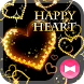 Fancy Wallpaper HAPPY HEART Theme by +HOME by Ateam