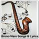 Bruno Mars Songs & Lyrics by zyan_app