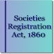 Societies Registration Act1860 by Rachit Technology