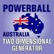Australian Powerball generator by Spataru Dragos George