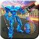 Futuristic Police Car Robot Transform War by Trenzy