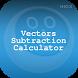 Vector Subtraction Calculator by HIOX Softwares Pvt Ltd