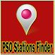 PSO Stations Finder