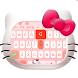 Cute Pink Kitty Keyboard