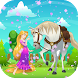 Princess Rapunzel with Horse by Games Adventures Games