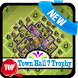 Town Hall 7 Trophy Base Layouts by padni media