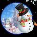 Snowman Winter Walpaper