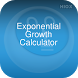Exponential Growth Calculator by HIOX Softwares Pvt Ltd