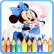 How To Color Minnie Mouse - Mickey Mouse by MoBroApps