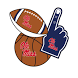 Ole Miss Rebels Selfie Stickers by 2Thumbz, Inc