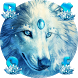 Ice Wolf Theme by Cool Theme Love