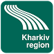 Kharkiv region Map offline by iniCall.com