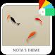 Koi Xperia Theme by Nota Dao