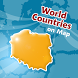 Countries Location Maps Quiz by Paridae