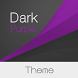 Dark Lollipop - Purple Theme by Michał Ambroziak