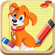 How To Draw Dogs-step by step by drawing apps